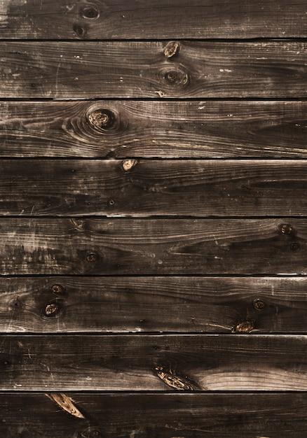 Fondo rústico de rayas horizontales de madera Foto gratis