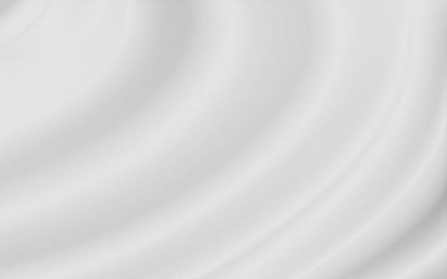 Fondo de tela de lujo blanco Foto Premium