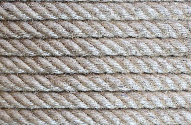 Fondo de textura de cuerda (lineas horizontales). Foto Premium