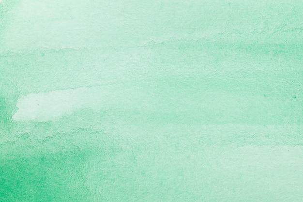 Fondo de textura macro acuarela abstracta verde Foto Premium