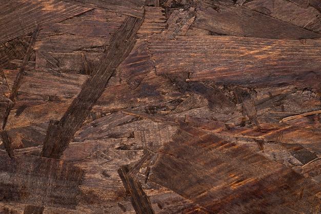 Fondo con textura de madera marrón detallado Foto gratis