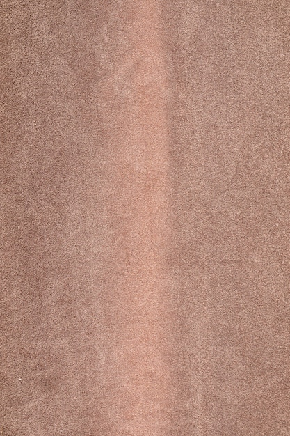 Fondo con textura marrón, tela de terciopelo, primer plano de fotograma completo Foto Premium