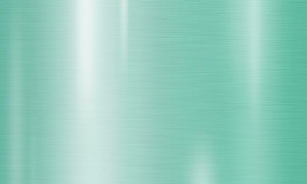 Fondo de textura de metal color menta neo Foto Premium