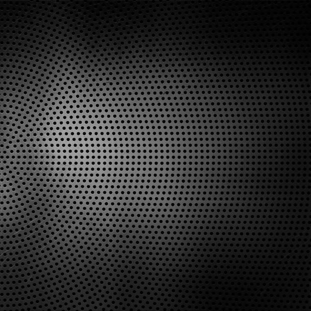 Fondo de textura metálica perforada Foto gratis
