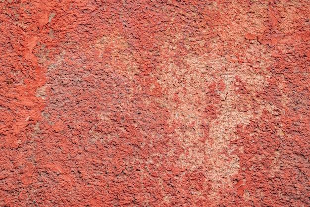 Fondo de textura de muro de hormigón rojo Foto Premium