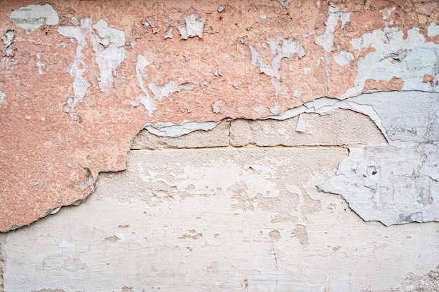 Fondo de textura de pared de hormigón rosa en blanco Foto gratis