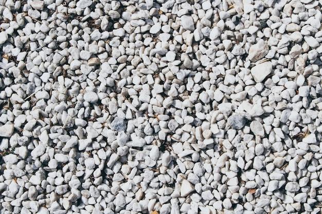 Fondo de textura de pequeñas piedras blancas Foto gratis