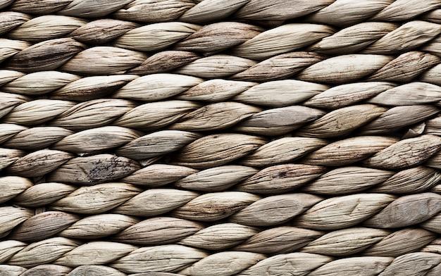 Fondo de textura con rayas horizontales de cuerda Foto gratis