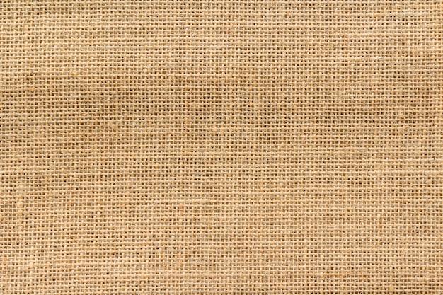 Fondo y textura de saco de arpillera Foto Premium