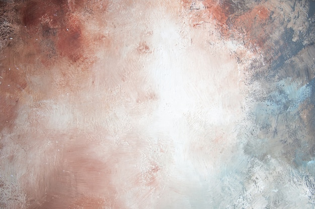 Fondo de vista superior hermoso fondo blanco-gris-marrón-crema-azul Foto gratis