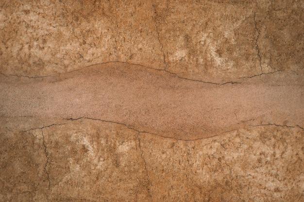 Forma de las capas del suelo, su color y texturas. Foto Premium