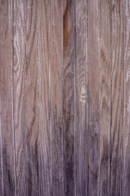 Foto vertical de la textura de una vieja madera gastada. imagen retro Foto Premium