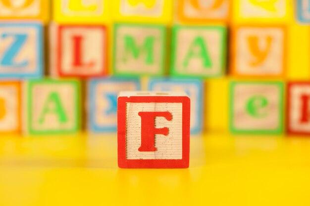 Molde letra f