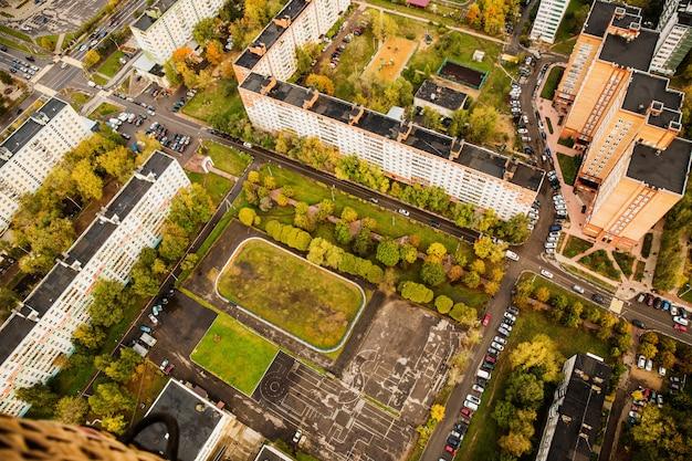 Fotografía de la naturaleza desde el aire Foto gratis