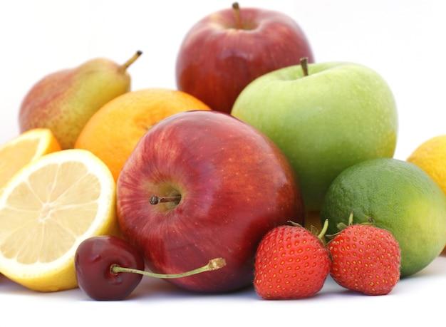 Frutas blancas: Fruta fresca