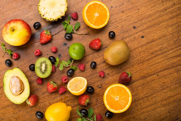 Frutas y bayas Foto Premium