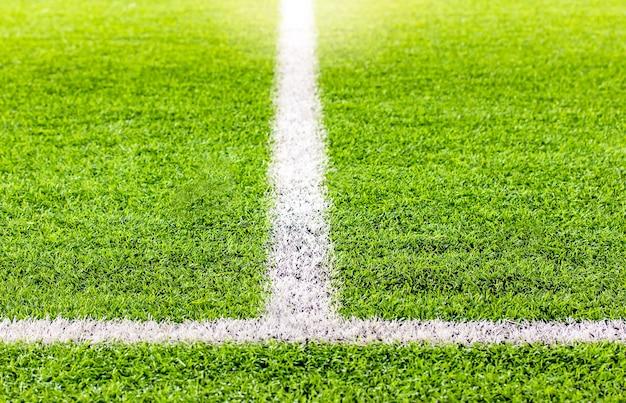Fútbol sala, campo de fútbol césped artificial Foto Premium