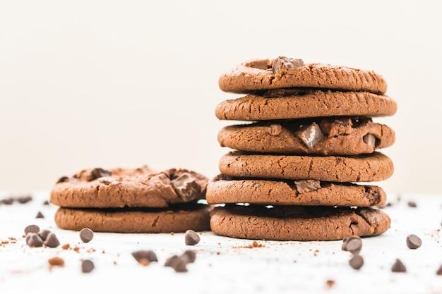 Galletas de chocolate Foto gratis
