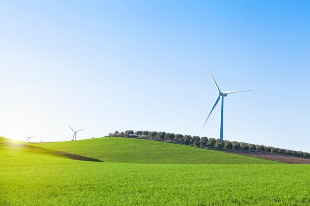 Generador eólico Foto Gratis