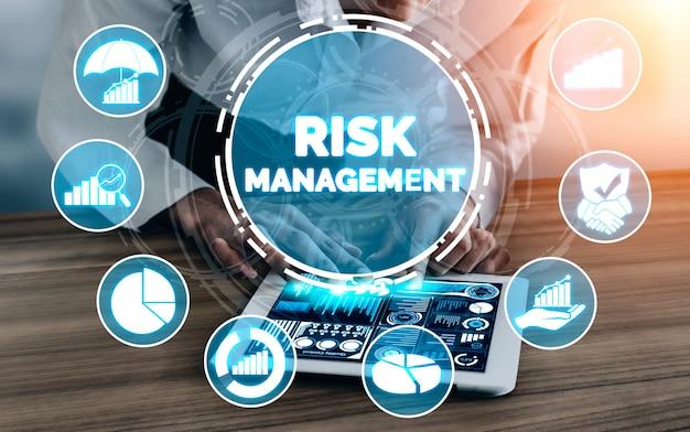 Gestión y evaluación de riesgos para empresas Foto Premium
