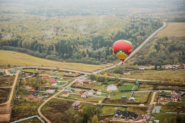 Globo aerostático Foto gratis