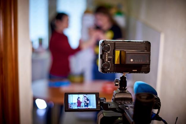 Grabacion de camara Foto Premium
