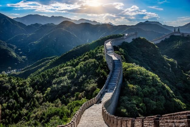 La gran muralla Foto gratis