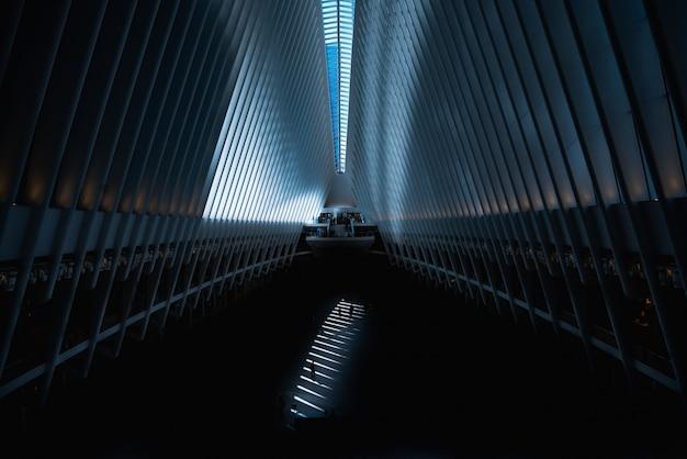 Gran salón de arquitectura moderna Foto gratis