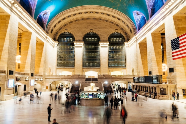 Grand central station en nueva york Foto gratis