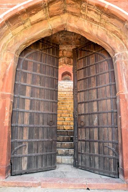 Grandes Puertas De Madera Viejas Descargar Fotos Premium
