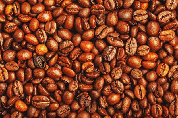 Grano de café tostado Foto Premium