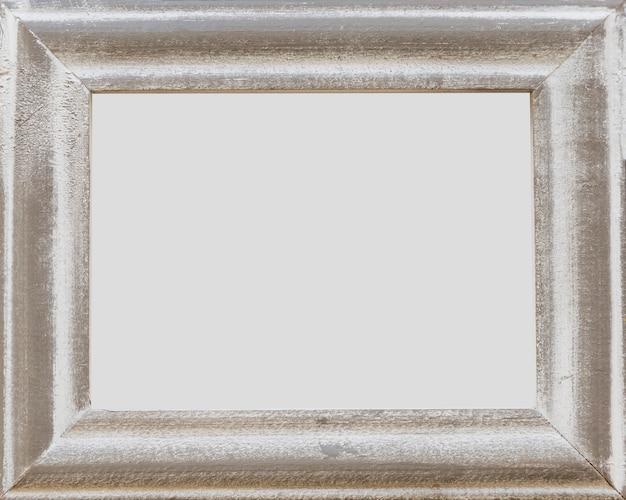 Grunge viejo marco vacío blanco Foto gratis