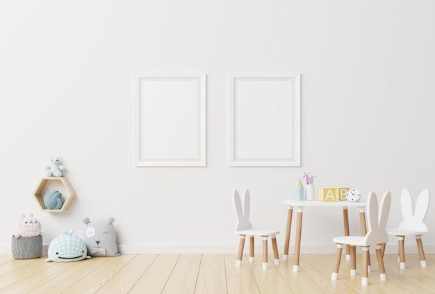 Habitación infantil interior. Foto Premium