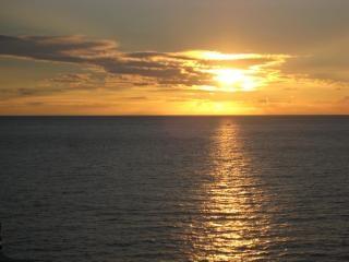 Hawaii puesta de sol puesta de sol