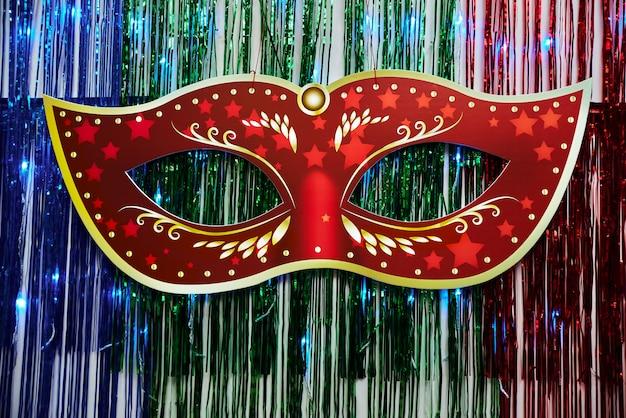 Hermosa máscara de carnaval Foto Premium