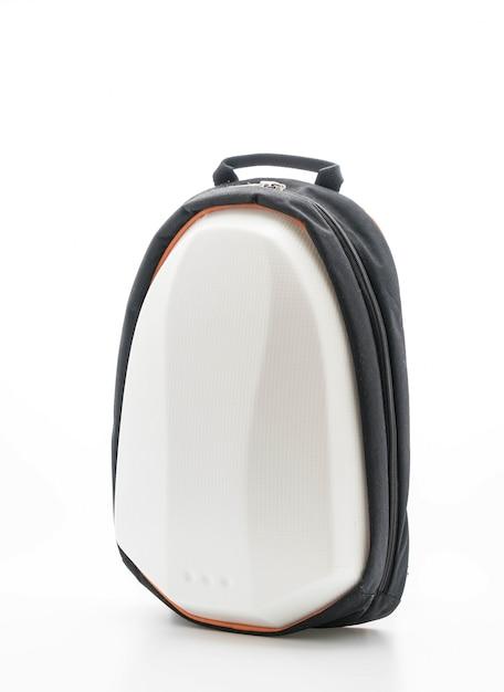 hermosa mochila en blanco Foto Gratis