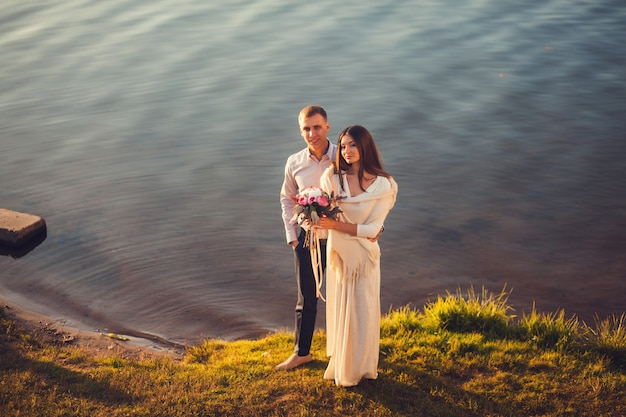 Hermosa pareja Foto Premium