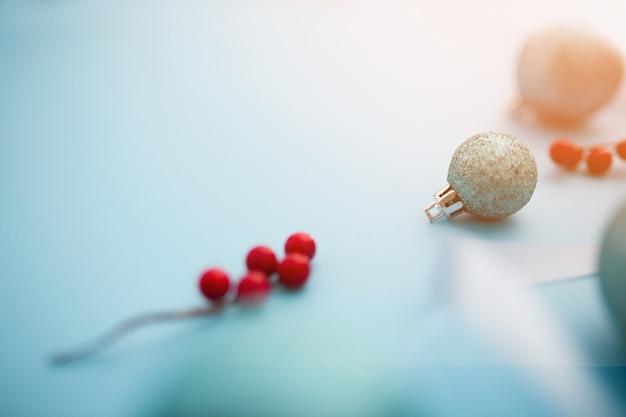 Hermosas bolas de navidad Foto gratis