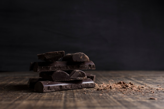 Hermoso bodegón con concepto de chocolate Foto gratis
