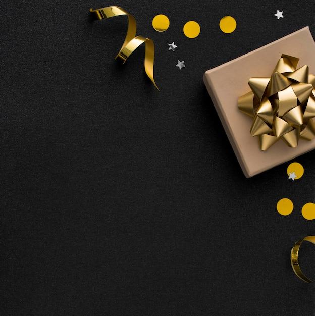 Hermoso concepto de cumpleaños con espacio de copia Foto Premium