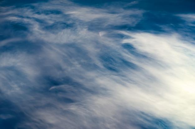 Fondo de nubes en movimiento