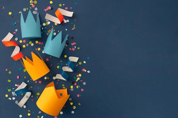 Hermoso fondo de colores para felicitar el cumpleaños Foto gratis