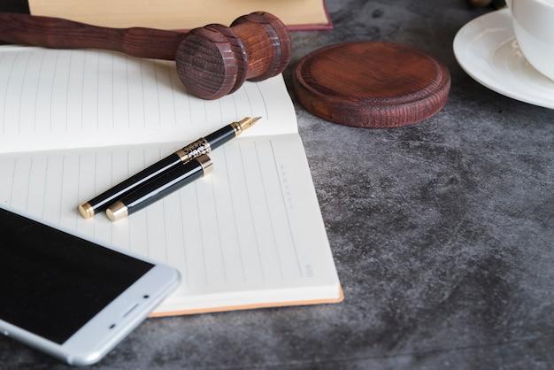 Herramientas de abogado Foto gratis