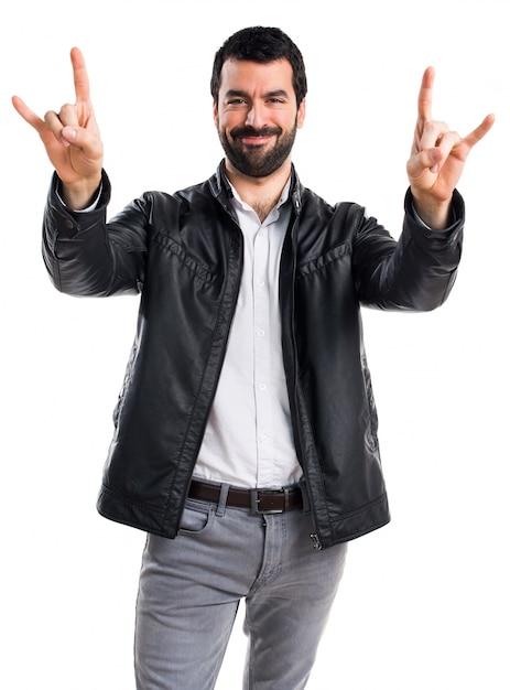 Hombre cuerno adulto tipo pesado | Descargar Fotos gratis