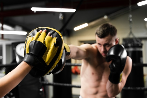 Clase de boxeo Ripollet