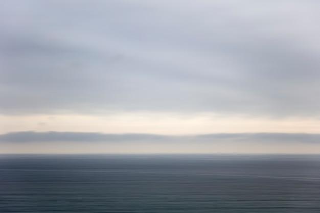 Horizonte oceánico tranquilo | Descargar Fotos premium