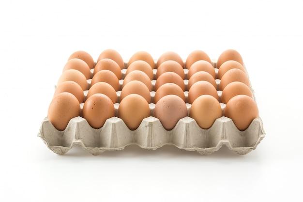 Huevos de gallina Foto gratis