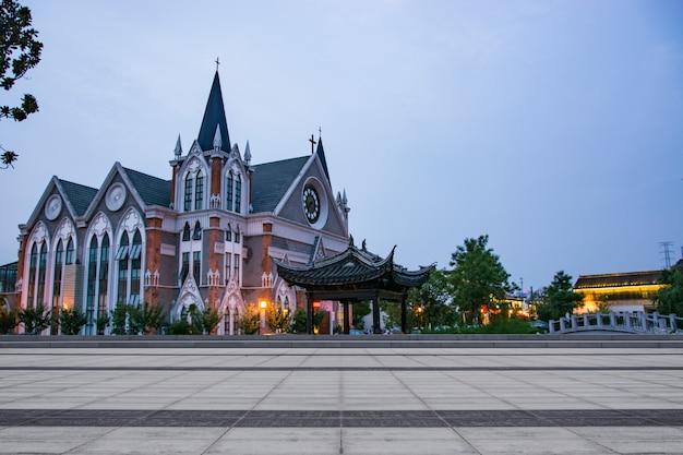 Iglesia en china Foto gratis
