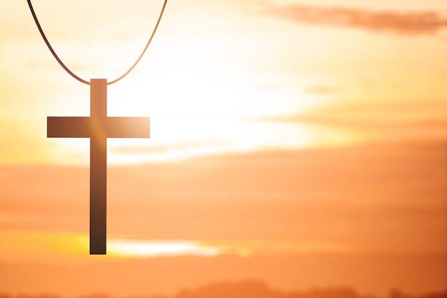 Imagen de la cruz cristiana Foto Premium