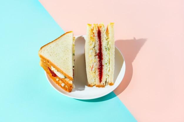 Inkigayo sandwich coreano Foto Premium